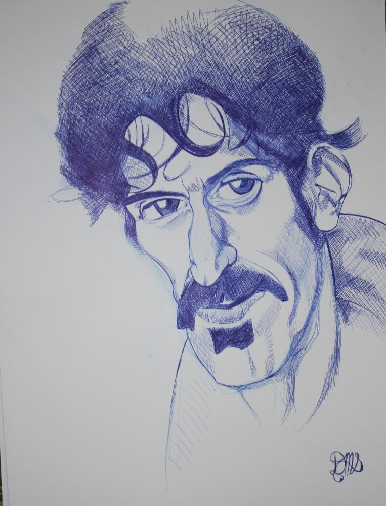 Frank Zappa par demersemanthomas